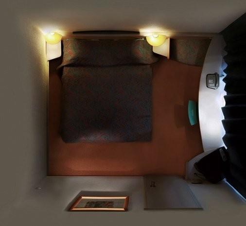"""Вид сверху лучше: """"Портреты комнат"""", сделанные с потолка. Изображение № 11."""