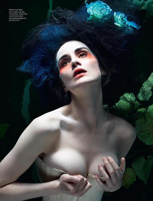 Стоп-кадр: Новые съемки Love, Russh, Vogue и V. Изображение № 30.