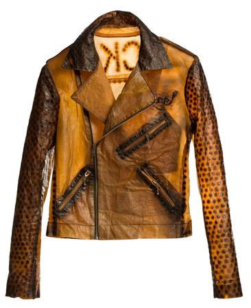 Аналог классической кожаной мотоциклетной куртки, сделанный при помощи бактерий. Изображение № 32.