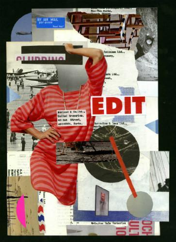 Клей, ножницы, бумага: 10 современных художников-коллажистов. Изображение № 36.
