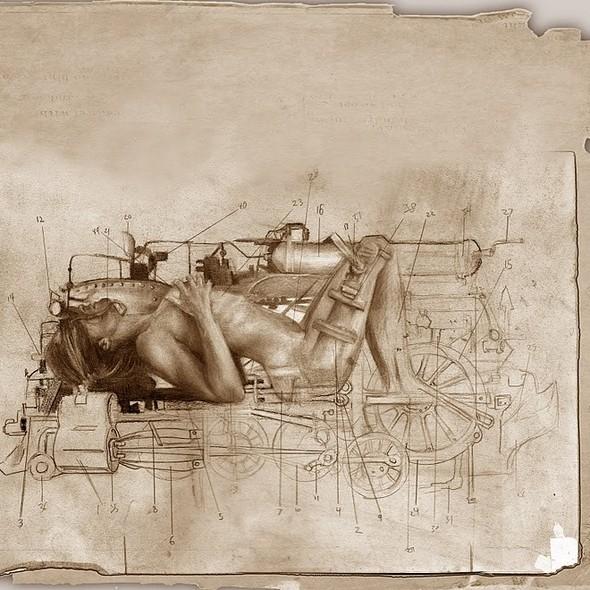 Женственный машинариум Джефри Ритчера. Изображение № 3.
