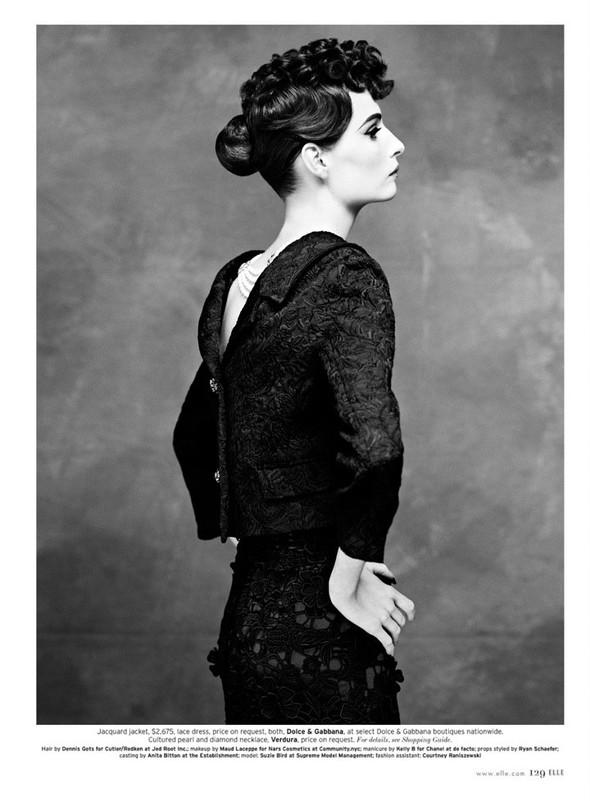 Съёмка: Сюзи Берд для Elle. Изображение № 11.