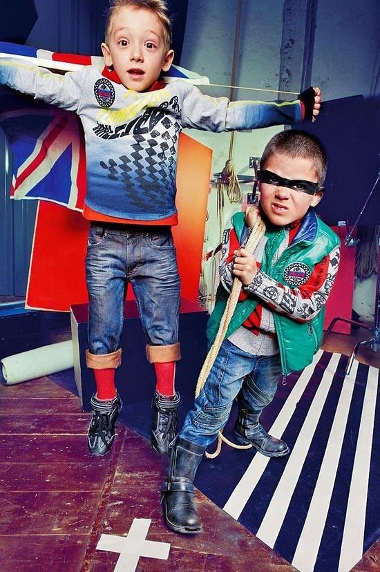 Новая детская одежда отDiesel. Изображение № 16.