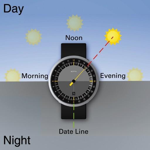 Необычные часы UNO 24 от Botta-Design. Изображение № 2.