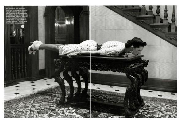 Съёмка: Стелла Теннант в объективе Стивена Майзела. Изображение № 11.
