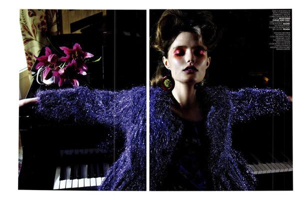 Съёмка: Кэти Фогарти для Marie Claire. Изображение № 5.
