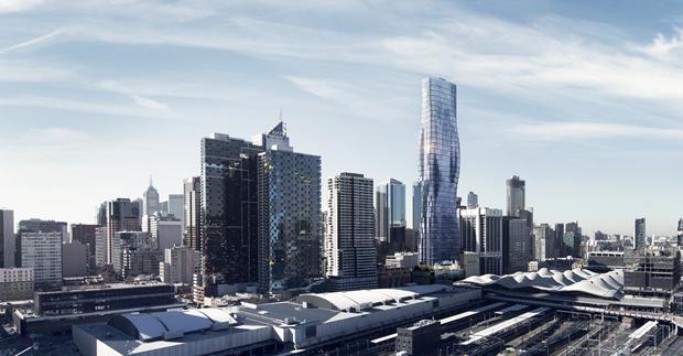 Бюро представило вдохновлённый клипом Бейонсе небоскрёб. Изображение № 1.