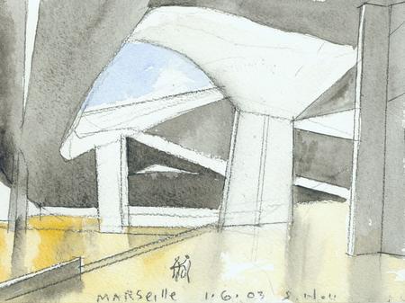 Архитектурные акварели стивена холла. Изображение № 13.
