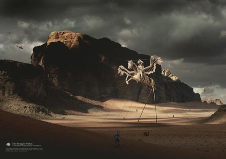 Работы голландского цифрового художника Eric Oosterhof. Изображение № 1.