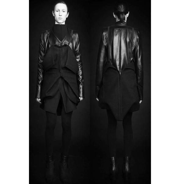 Изображение 28. Лукбуки: Bergdorf Goodman, Jaeger Black и Rad Hourani.. Изображение № 28.