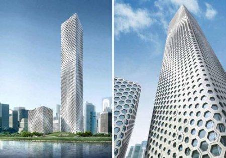 Сотовый небоскреб отMAD Architects. Изображение № 1.