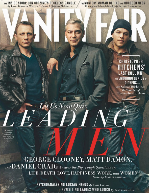 Обложки: Interview и Vanity Fair. Изображение № 2.