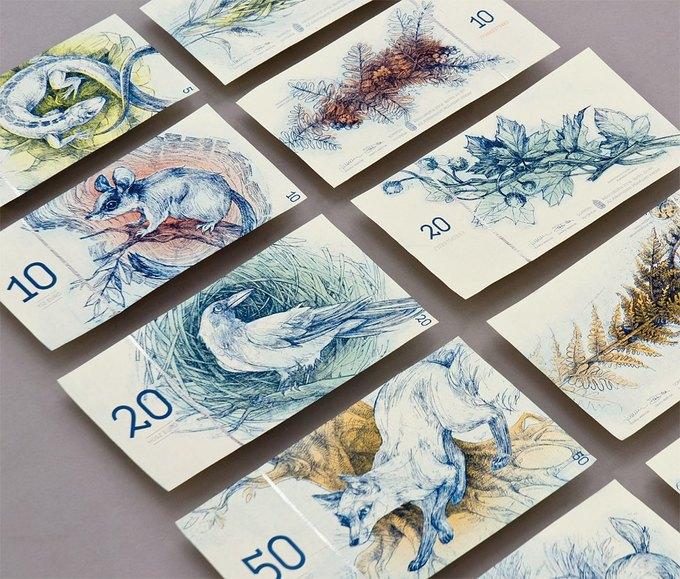 Концепт дня: банкноты несуществующих венгерских евро. Изображение № 1.