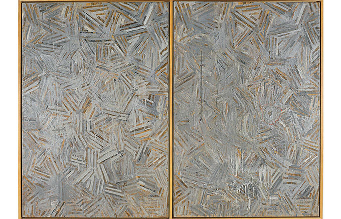Jasper Johns, The Dutch Wives, 1975. Изображение № 29.
