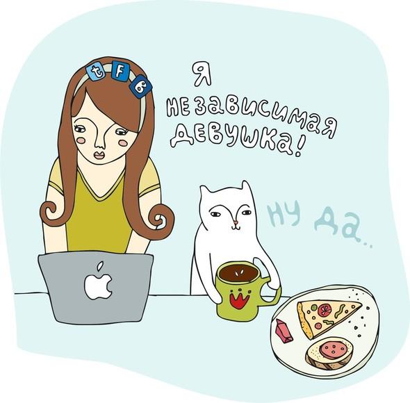 Забавные иллюстрации sweetpirat. Изображение № 10.
