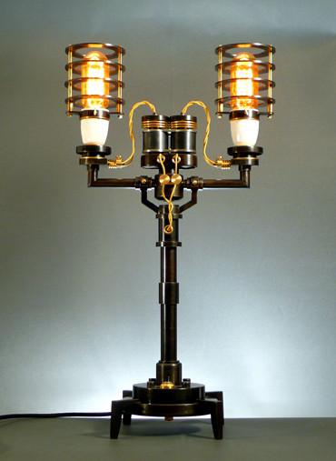 Стимпанк лампы отФранка Бухвальда. Изображение № 2.