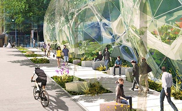Amazon построит биокуполы в Сиэтле. Изображение № 2.