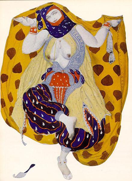 ЛевБакст – «арт нуво» втеатре. Изображение № 7.
