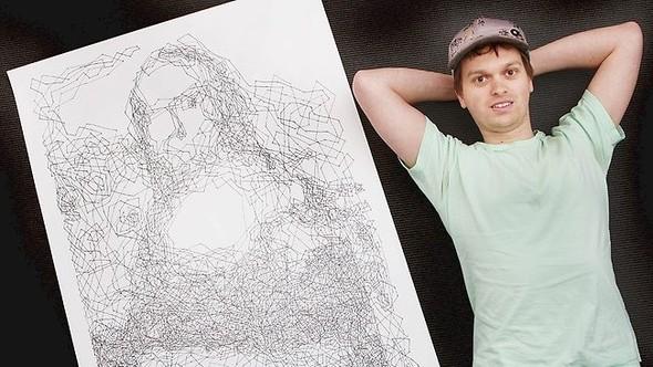 """Рекорд Гиннеса: """"Мона Лиза"""" в 6 239 точках. Изображение № 2."""