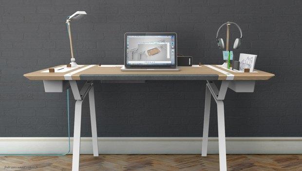 Концепт недели: стол, который всегда в порядке. Изображение № 2.