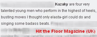 Оружие казаков нынче – пара каблуков: Kazaky в Большой деревне. Изображение № 4.