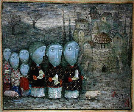 Живопись Давида Попиашвили. Изображение № 8.