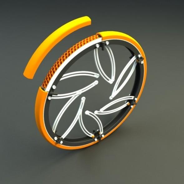 Складной велосипед отVictor M. Aleman. Изображение № 5.