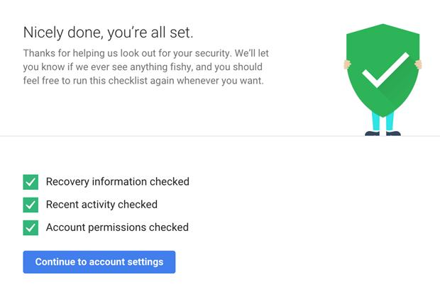 Google Drive подарит 2 ГБ за проверку безопасности. Изображение № 1.