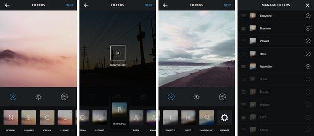 В Instagram появились пять новых фильтров. Изображение № 1.