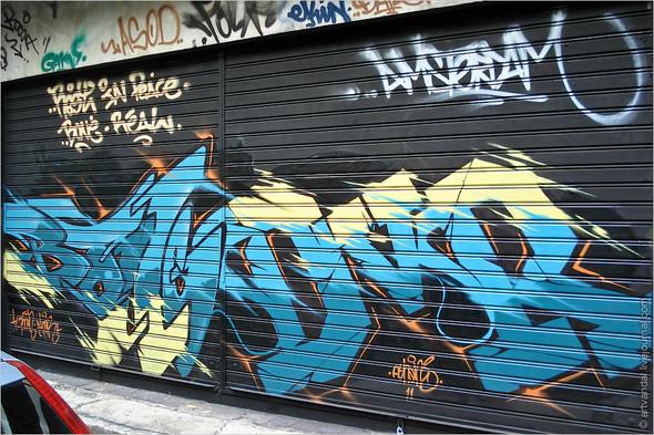 Стрит-арт и граффити Афин, Греция. Изображение № 36.