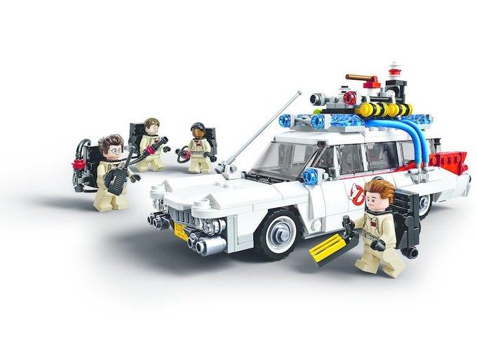 Опубликованы первые фотографии набора «Охотников за привидениями» LEGO. Изображение № 2.