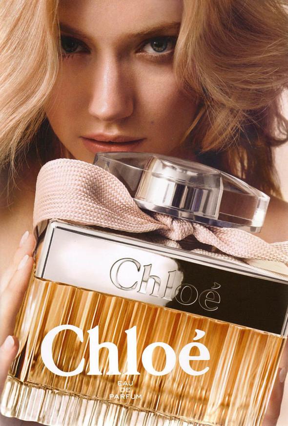 Камилле Ров и Имоджен Путс в кампании аромата Chloe. Изображение № 1.