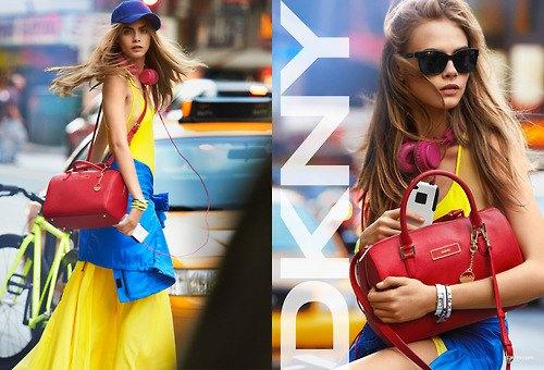 Alberta Ferretti, DKNY и Moschino показали новые кампании. Изображение № 4.