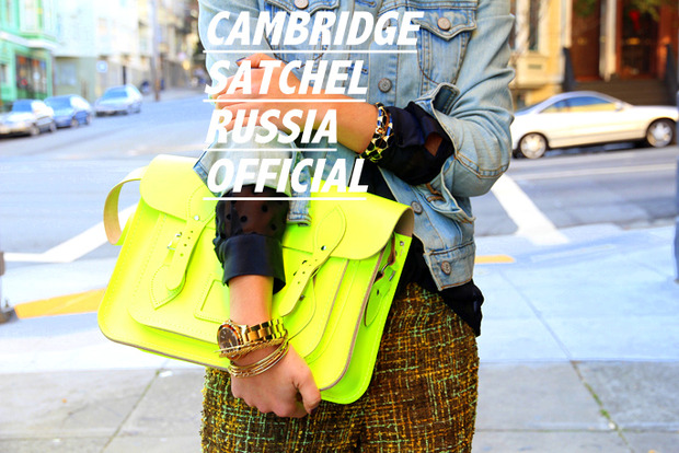 CAMBRIDGE SATCHEL RUSSIA. Изображение № 3.