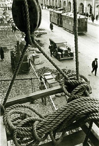 Дорожные работы, 1931 г.. Изображение № 48.