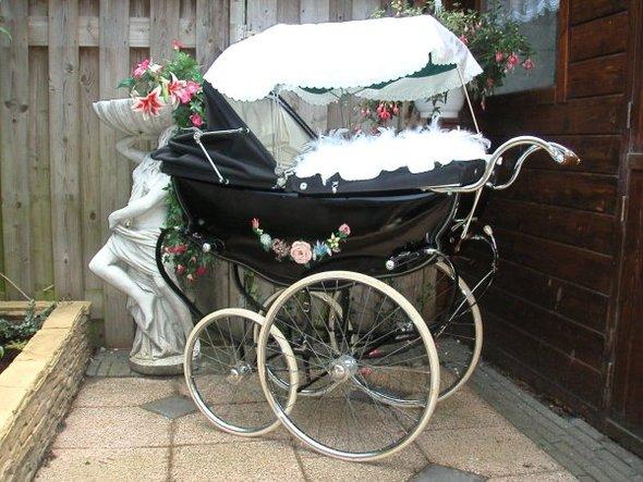 Ретро – kinderwagen, stroller илидетская коляска. Изображение №16.