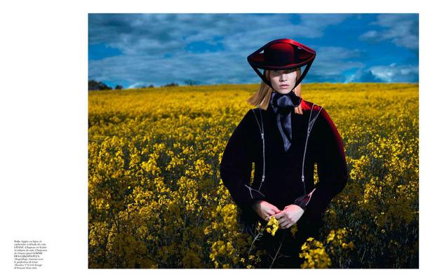 Новые съемки Dazed & Confused, Vogue, i-D и W Magazine. Изображение № 14.