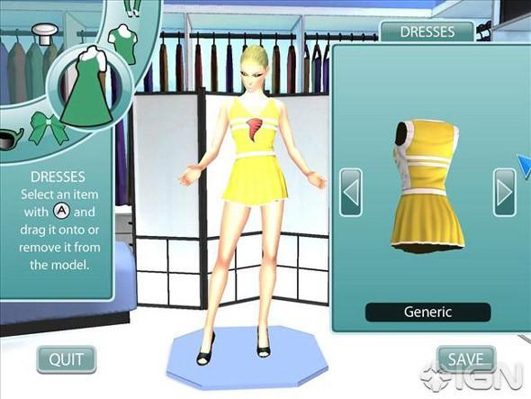 Project Runaway: игра о моде для Wii. Изображение № 3.