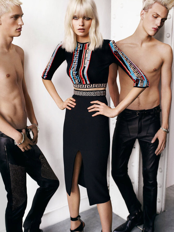 Изображение 16. Рекламные кампании: Chloe, Jean Paul Gaultier, Michael Kors и Versace.. Изображение № 17.