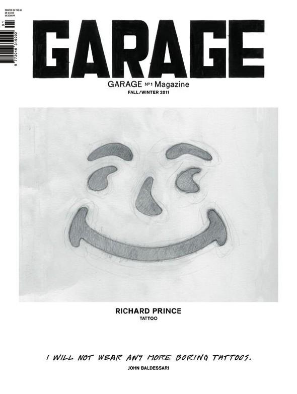 Показаны три обложки первого номера журнала Garage Даши Жуковой. Изображение № 3.
