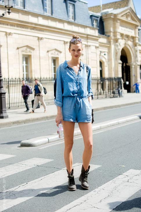 Уличный стиль на Неделе высокой моды в Париже. Изображение № 127.