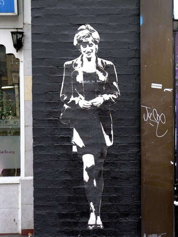 Стрит-арт в Лондоне. Изображение № 5.