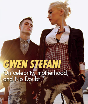 Gwen Stefani, ELLE USJuly 2009. Изображение № 8.