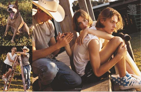 Съёмки: Harper's Bazaar, Interview, Vogue и другие. Изображение № 17.