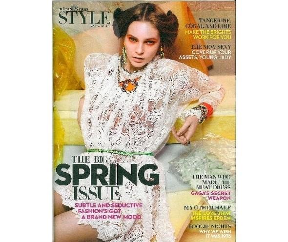 Изображение 28. Коллекция Dolce & Gabbana SS 2011 появилась на 42 обложках журналов.. Изображение № 34.