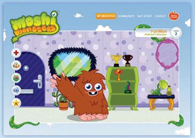 Moshi Monsters-Социальная Игровая Сеть дляваших Деток. Изображение № 4.