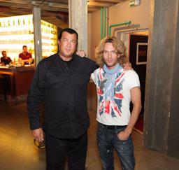 Стивен Сигал в гостях у ресторана Noviy. Изображение № 2.