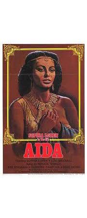 Постер фильма «Аида»  с Софи Лорен в главной роли, 1959. Изображение № 16.