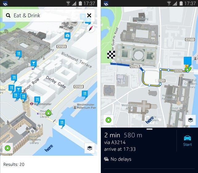 Карты Nokia установят на новые гаджеты Samsung. Изображение № 2.