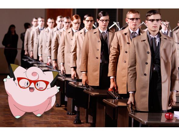 Фэшн-иллюстрация: Мода и покемоны. Изображение № 11.